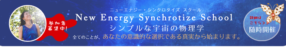 New Energy Synchrotize Schoolバナー